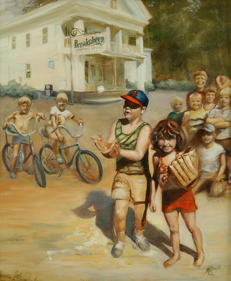 Tomboy Painting - Tomboy by Heather Burton