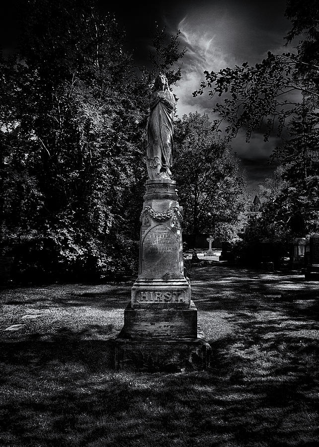 Tombstone Shadow No 2 Photograph