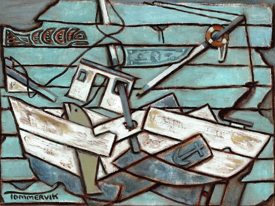 Commercial Fishing Painting - Tommervik Commercial Fishing Boat by Tommervik