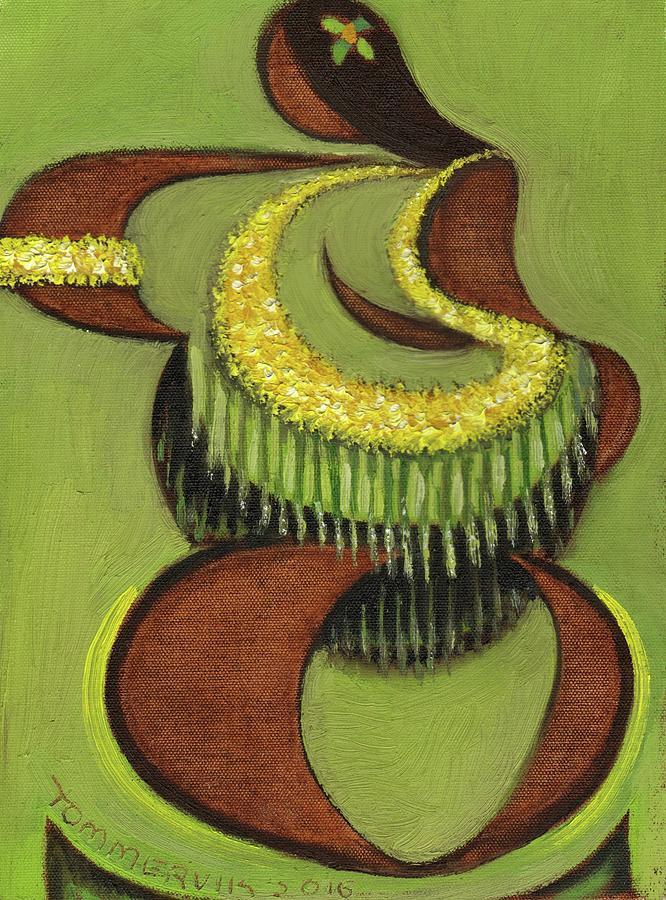 Tommervik Hula Dancer Hawaii Art Print by Tommervik