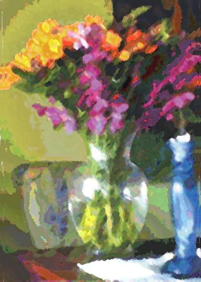 Flowers Painting - Tomorrow Morning by Thomas Lupari