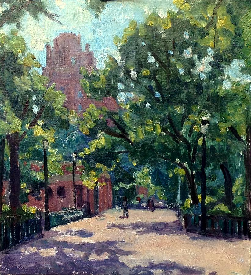 Tompkins Square Morning by Thor Wickstrom