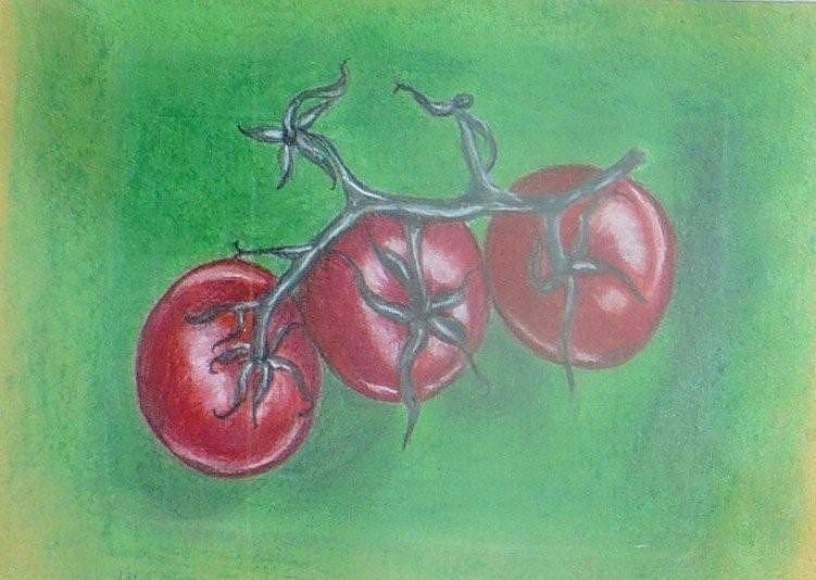 Pairs Painting - Toms Trio by Joanna  Kasprzak