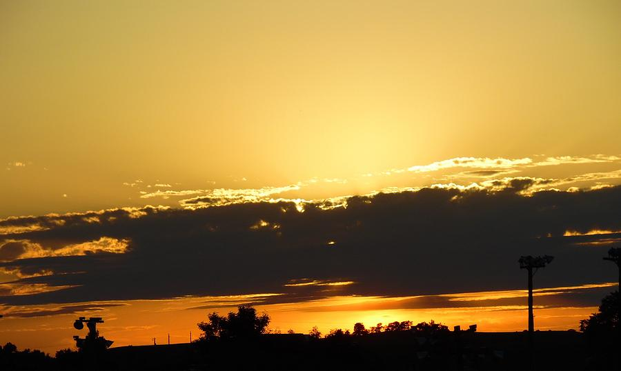 Sunset Photograph - Tonights Sunset by Pamela Pursel
