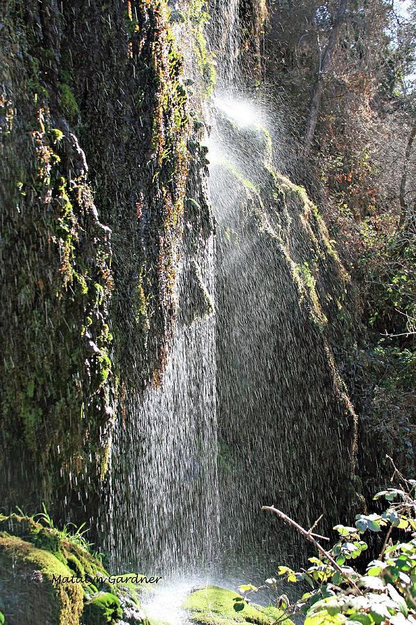 Tonto Waterfall Splash by Matalyn Gardner