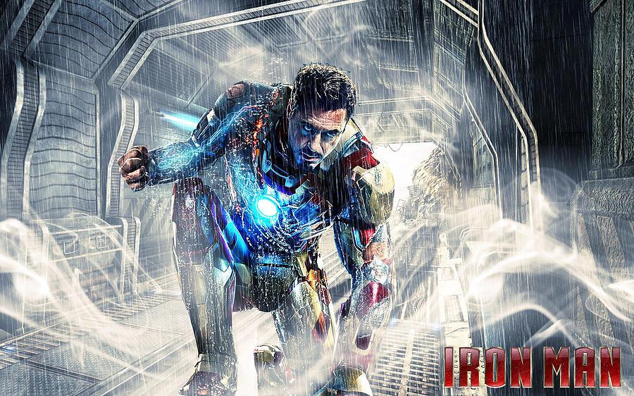 Tony Stark - Iron Man 3-300 by Jovemini ART