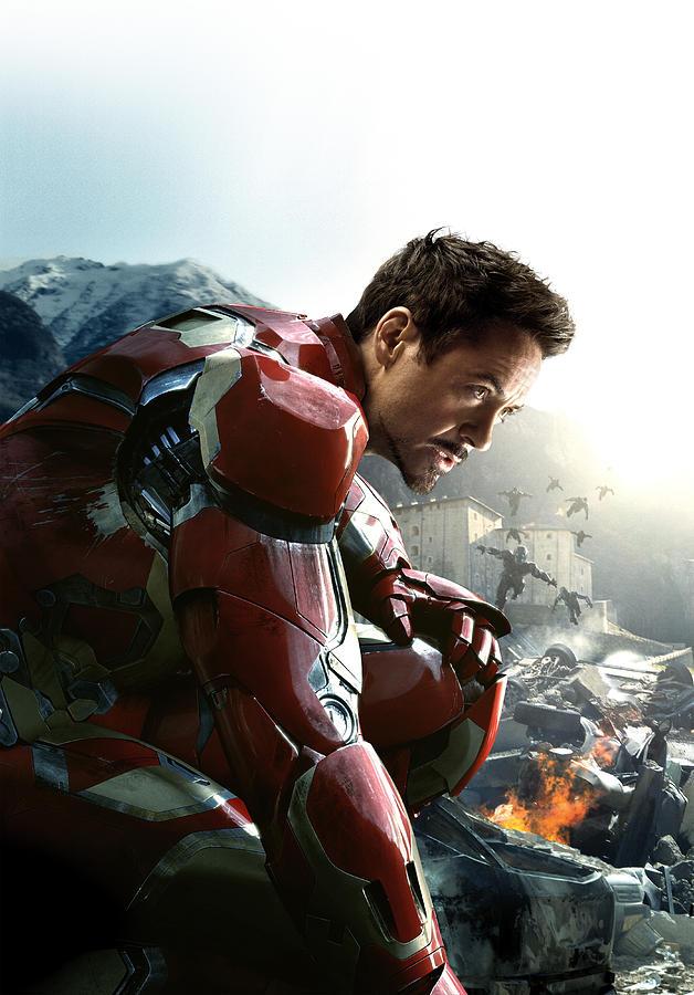 Iron Man Digital Art - Tony Stark Iron Man by Geek N Rock