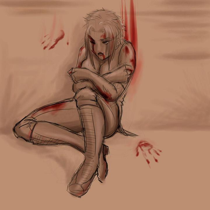 Aranya Digital Art - Too Close To Nearly Dead by Liz Coshow