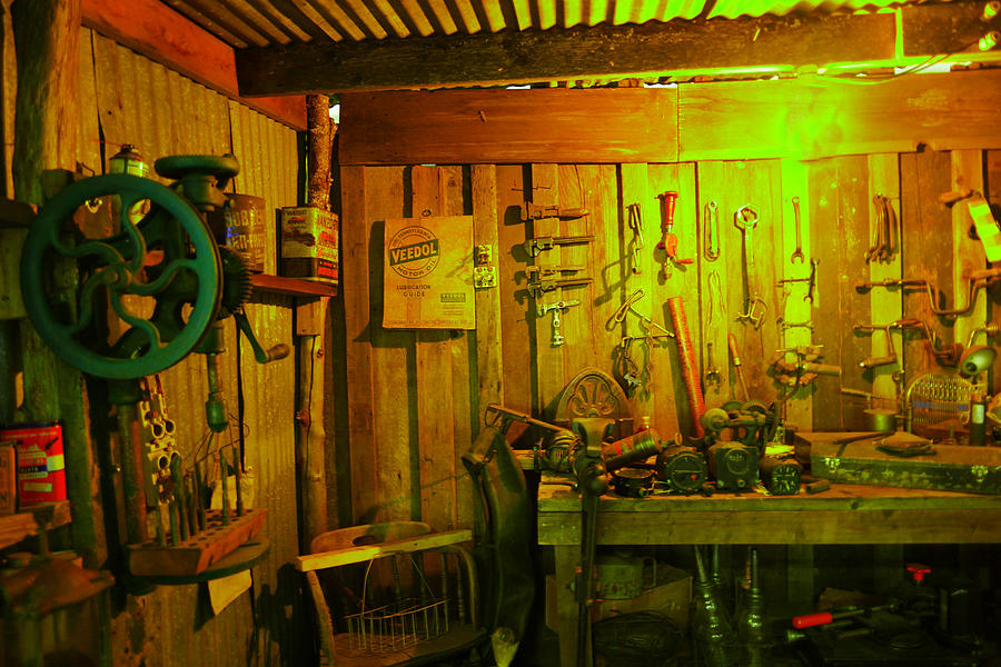 Tool Shed Photograph