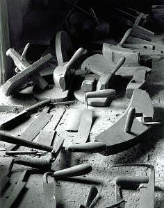 Tools Deerfield Cooperage Photograph by Paul Wainwright
