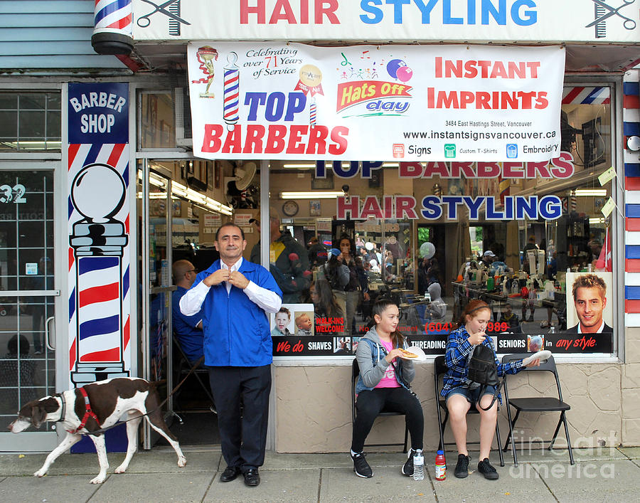 Top Barbers by Bill Thomson