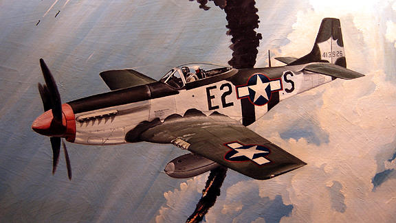 Aviation Painting - Top Cover by Marc Stewart