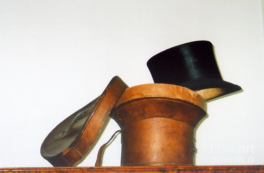 Top Hat Photograph - Top Hat by Andrea Simon