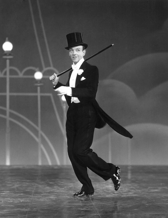 1930s Movies Photograph - Top Hat, Fred Astaire, 1935 by Everett