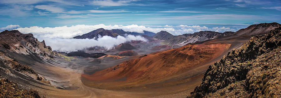 America Photograph - Top Of Haleakala Crater by Andy Konieczny