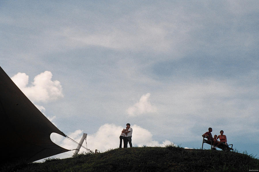 Hill Photograph - Top Of The Love by David Cardona