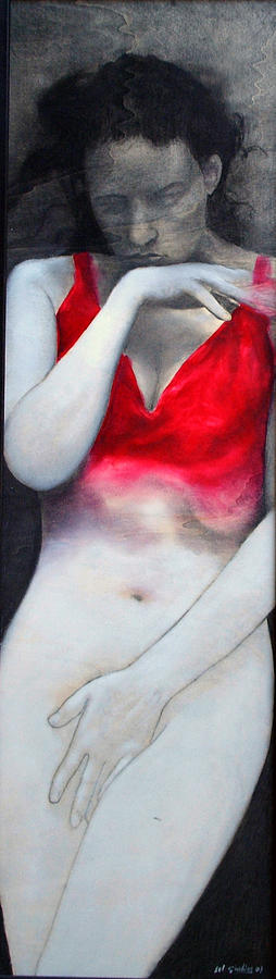 Top Quinacridone Painting by Amedeo Del Giudice