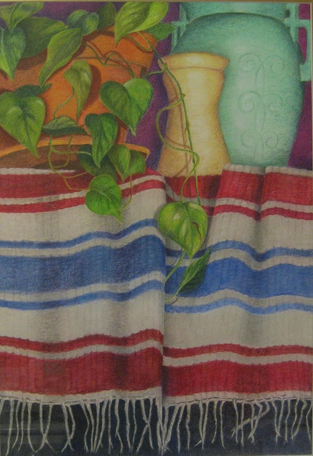 Top Shelf Pastel by Cindy Hall