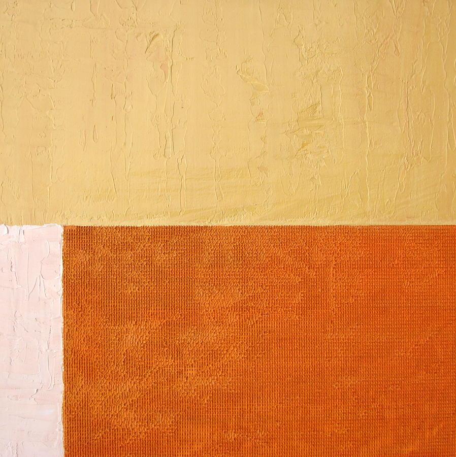 Orange Painting - Topaz Pink Orange by Michelle Calkins