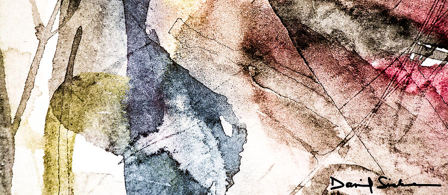Abstract Painting - Topographical 2 by Dan Sisken