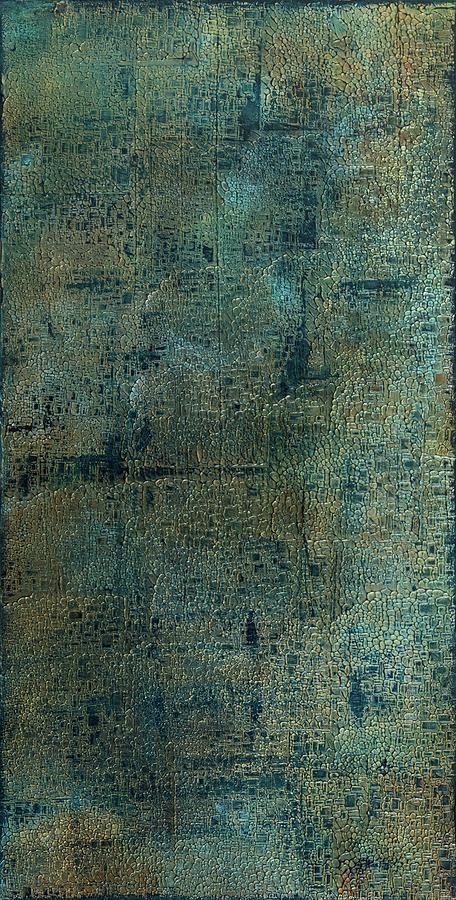 Abstract Painting - Topography by K Batson Art