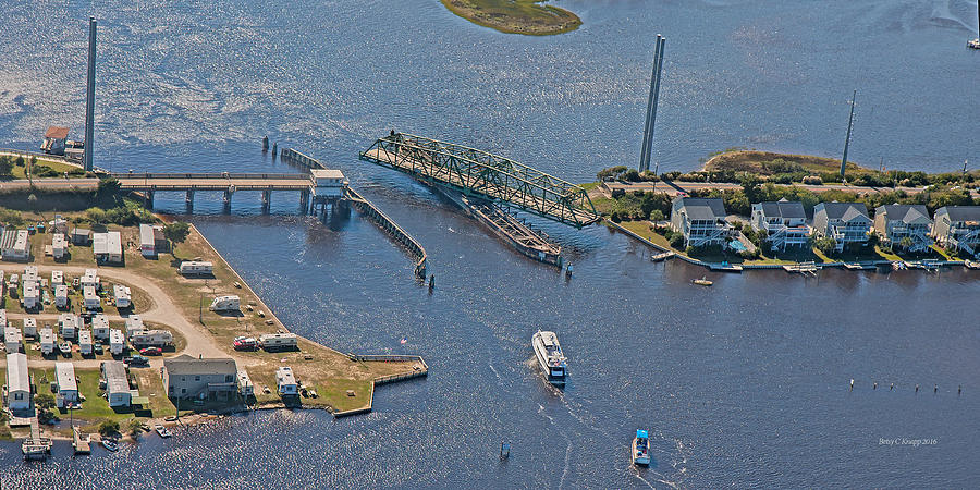Topsail Swing Bridge Photograph