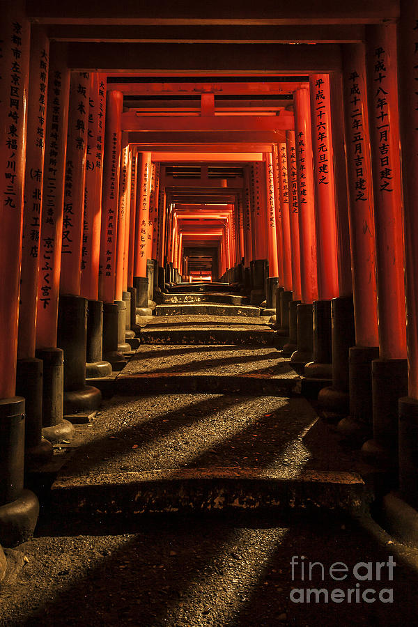 Japan Photograph - Tori Gates by Ben Johnson