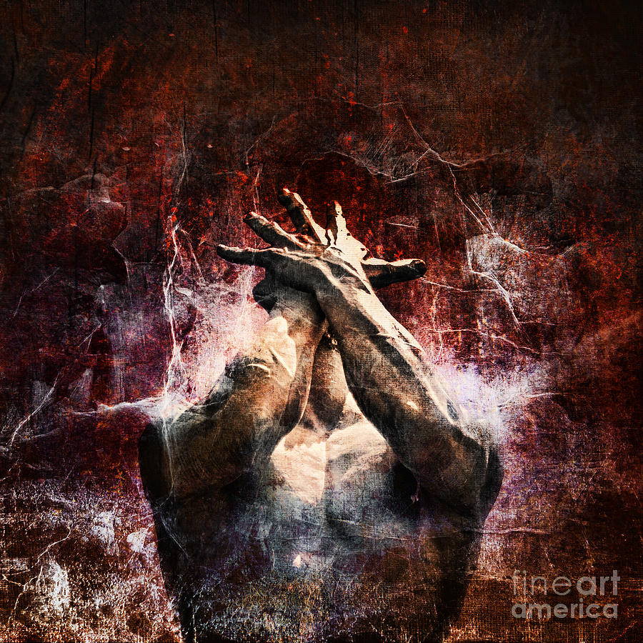 Statue Photograph - Torment by Andrew Paranavitana