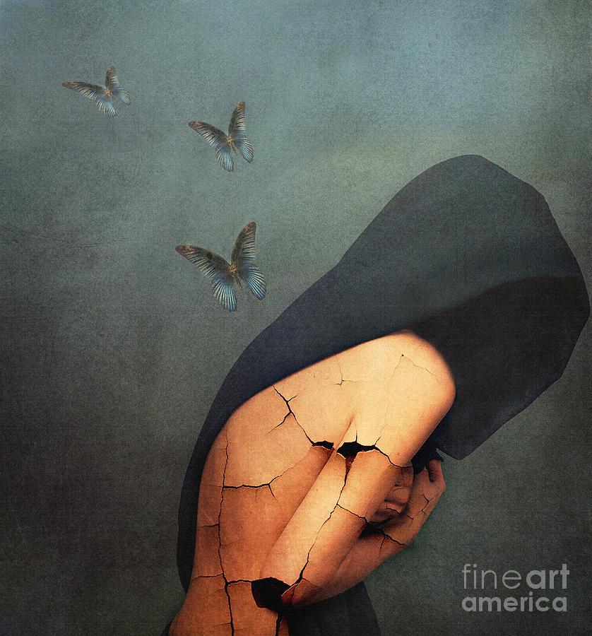 Emotive Painting - Torment by Jacky Gerritsen