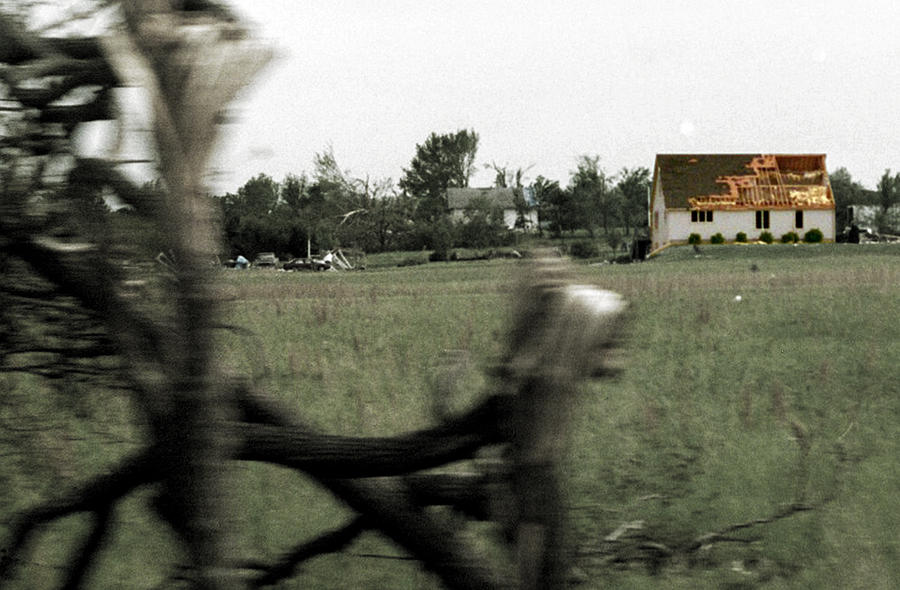 Tornado Photograph - Torn by Anthony Flores