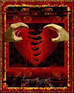 Love Digital Art - Torn Apart by Paul Kaleja