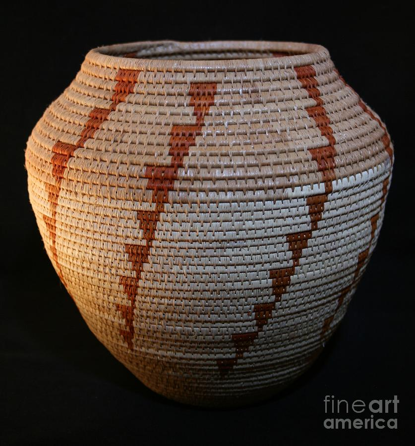 Basket Mixed Media - Tornado Bowl by Darlene Ryer
