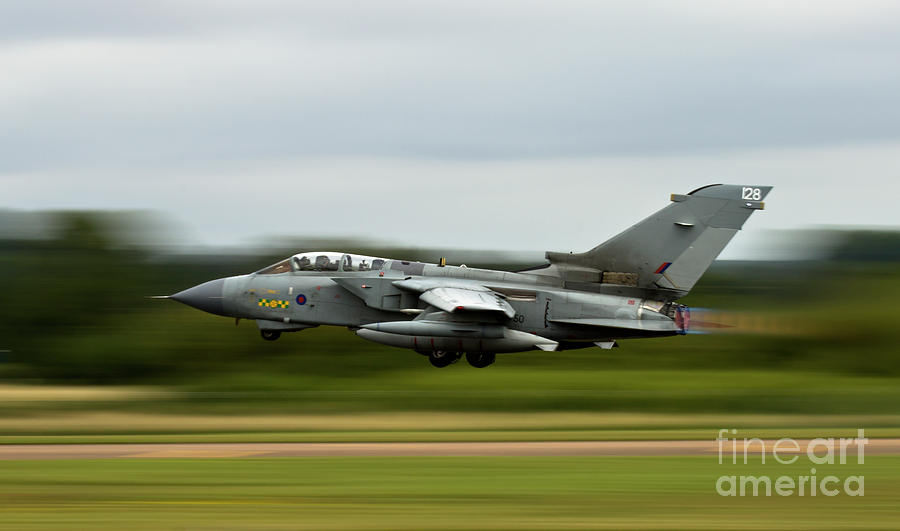 Aircraft Photograph - Tornado Gr4 by Angel Ciesniarska