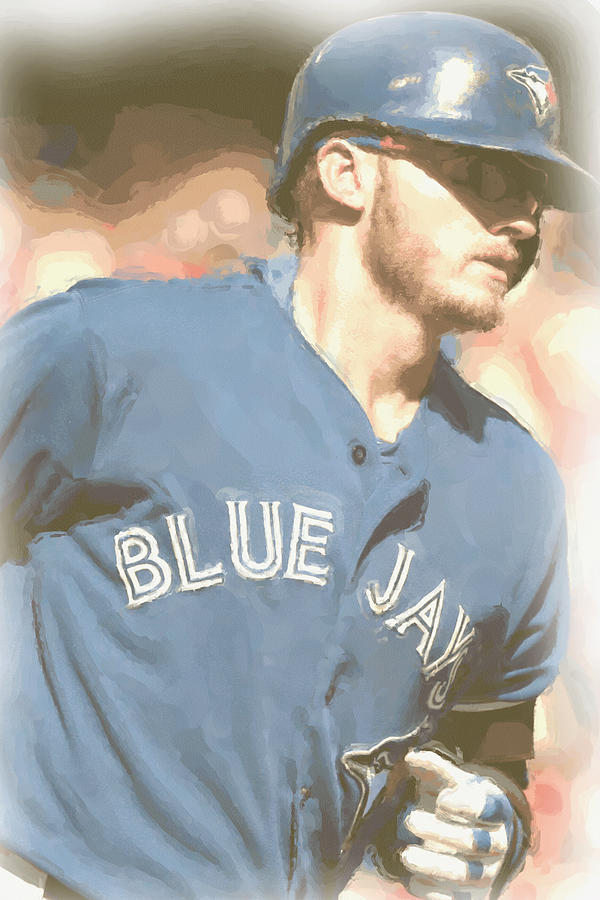 Josh Donaldson Photograph - Toronto Blue Jays Josh Donaldson 4 by Joe Hamilton