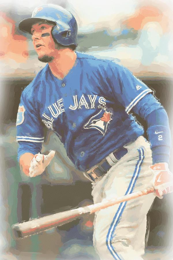 Troy Tulowitzki Photograph - Toronto Blue Jays Troy Tulowitzki by Joe Hamilton