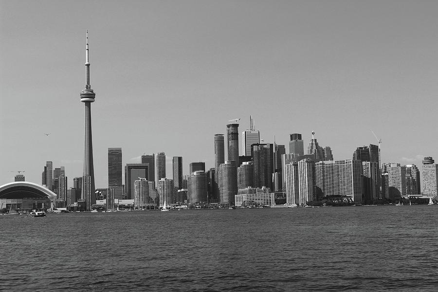 Toronto Cistyscape BW by Samantha Delory