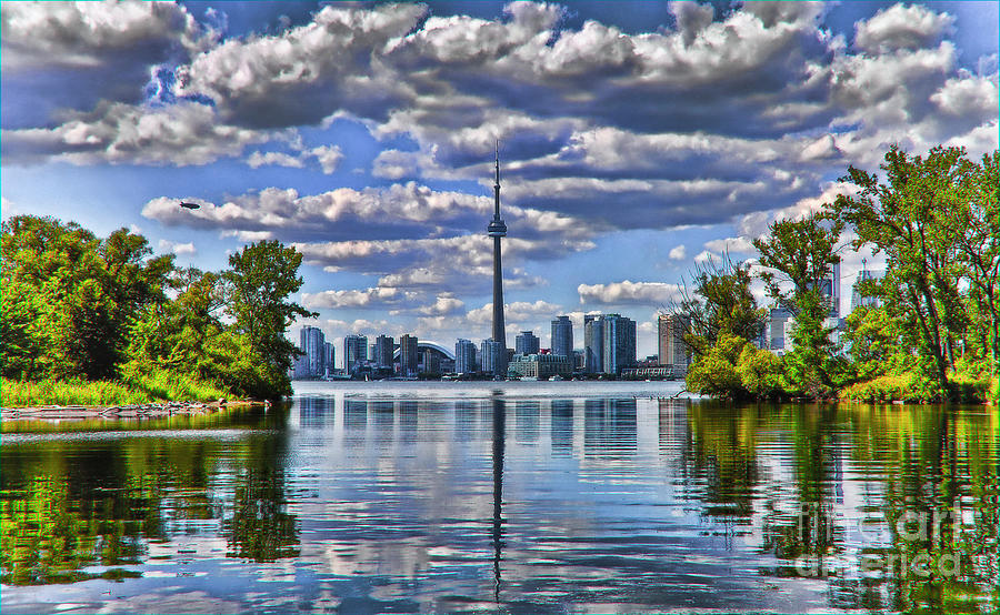 City Photograph - Toronto City View by Elaine Manley