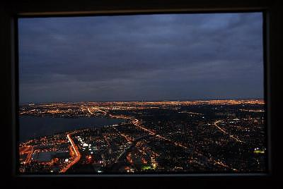Toronto Cn Tower View Photograph by Dr Moshe Porat