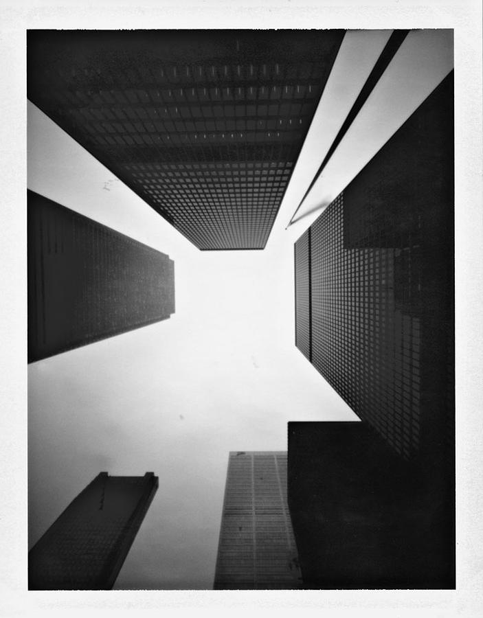 Pinhole Photograph - Toronto by Luca Baldassari