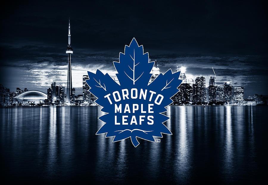 Toronto Maple Leafs Nhl Hockey Digital Art By Nicholas Legault