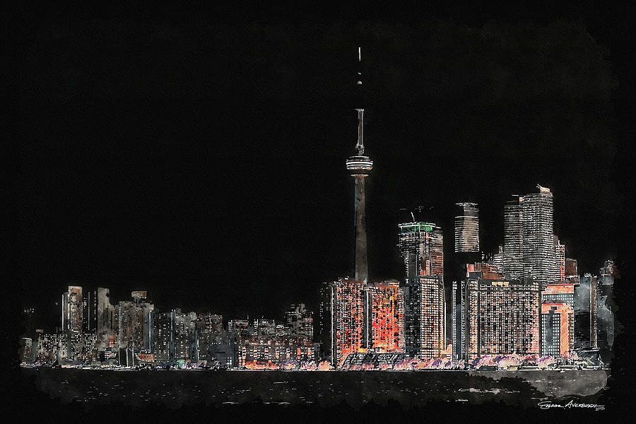 Toronto Nights by Serge Averbukh