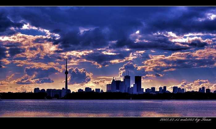 Toronto Photograph - Toronto Sky. by Sean Xiao