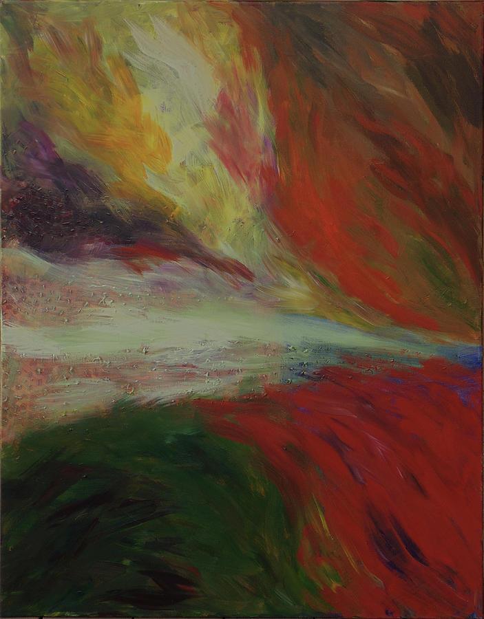Torrential Painting by Susan Moore