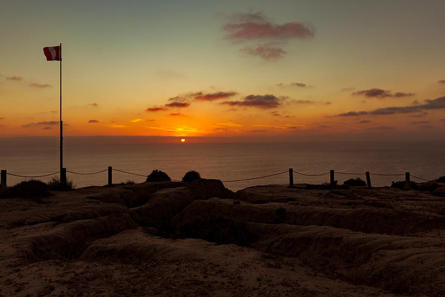 Torrey Pine Glider Port Sunset by Jeremy McKay