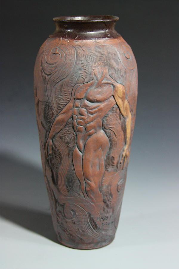 Male Nude Sculpture - Torsos 2 by Dan Earle