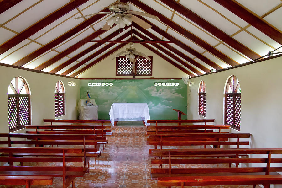 Tortuguero Church 2 by Arthur Dodd