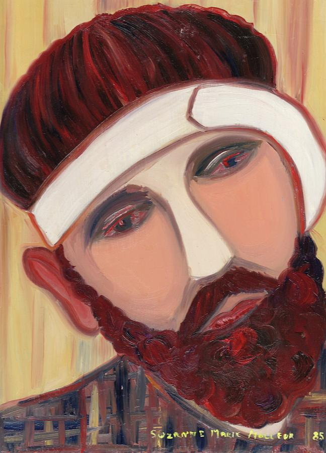 Man Painting - Tortured by Suzanne  Marie Leclair