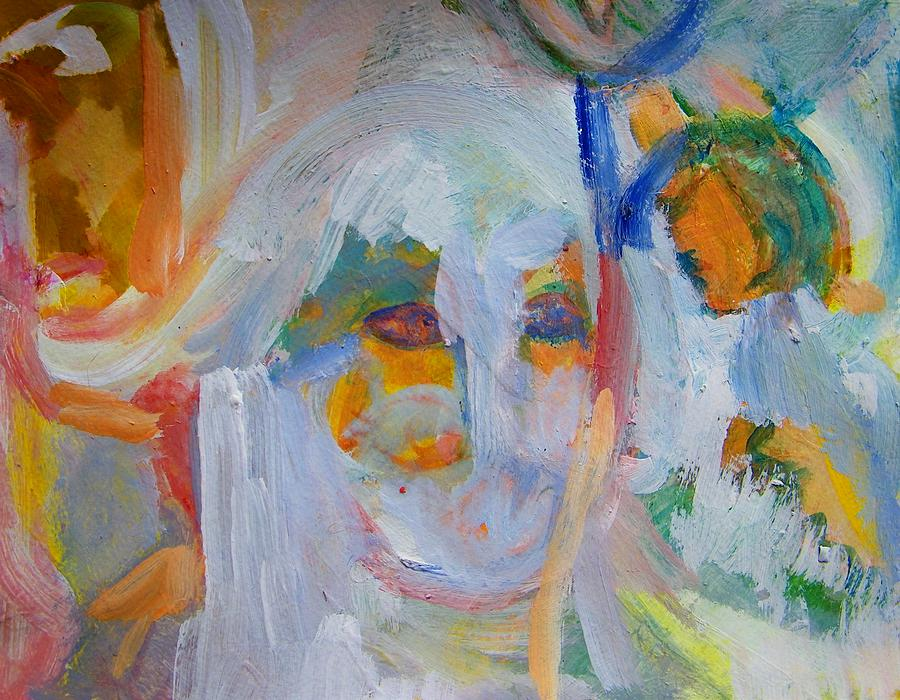 Abstract Painting - Totally Sterile by Judith Redman