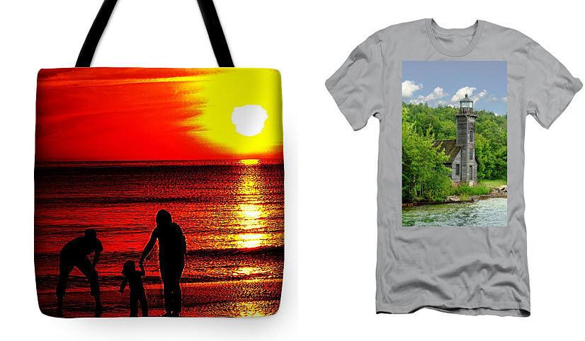 Totes Photograph - Totes and tee shirts by Jeff Kurtz