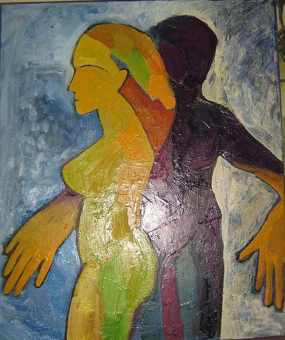 Totnoi Painting by Roxana Niculae